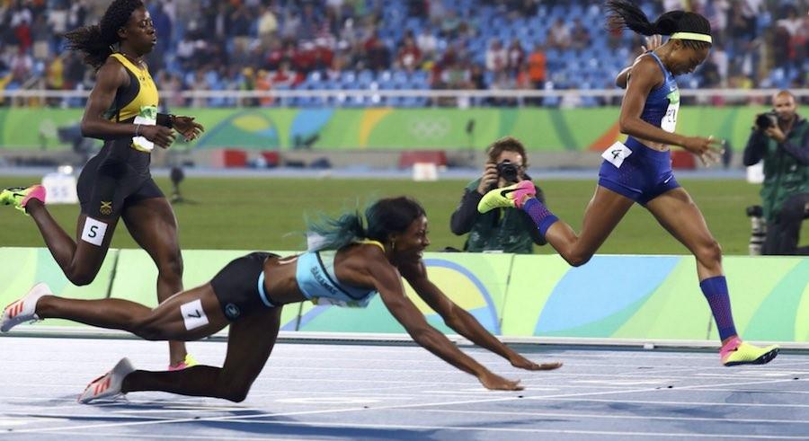 Río 2016 caida