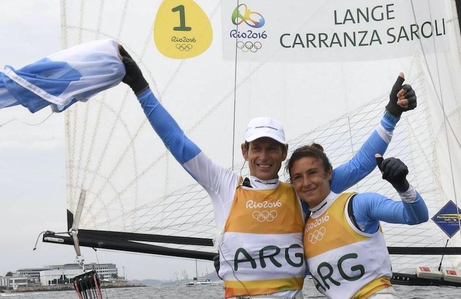 Río 2016 santiago lange