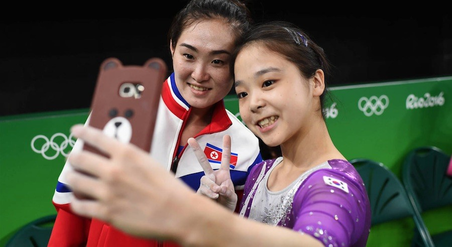 Río 2016 selfie