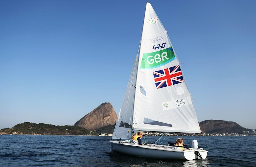 Río 2016 vela