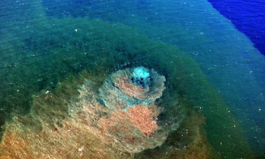 volcan submarino