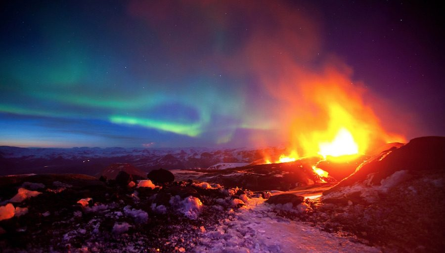 volcan submarino islandia