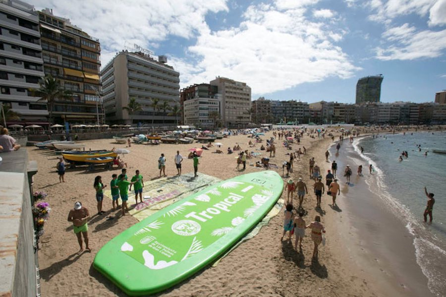 Paddle Surf Record Guinness 3