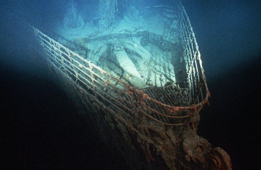 Incendio del Titanic 1