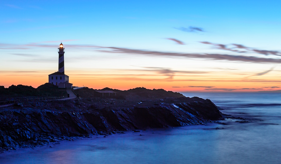 Turismo Náutico en Menorca Favaritx lighthouse