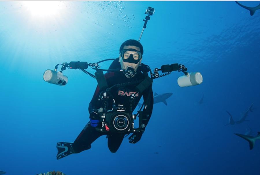 camara de fotografia subacuatica 1