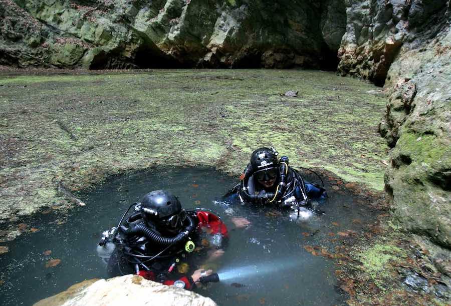 Cueva inundada más grande del mundo  -BTTersMallorca