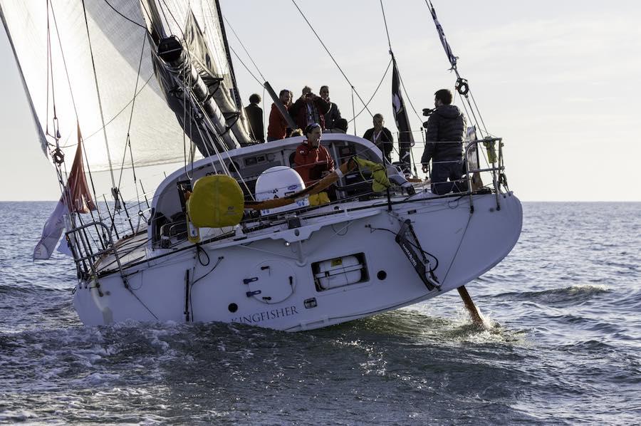 Didac Costa en la Vendée Globe