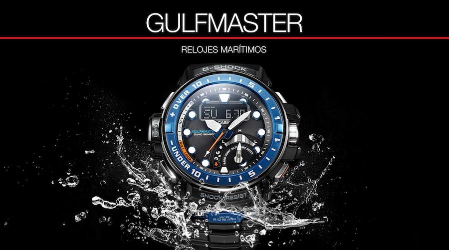 4f048a4576e5 Casio G-Shock Gulfmaster. Increíble reloj con sensor de profundidad