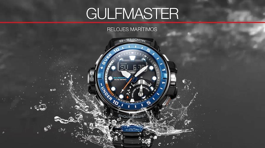 Reloj Casio G-Shock Gulfmaster