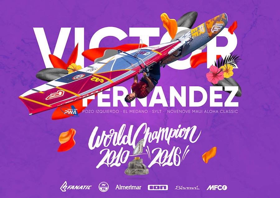 Víctor Fernández Mundial Windsurf 2016