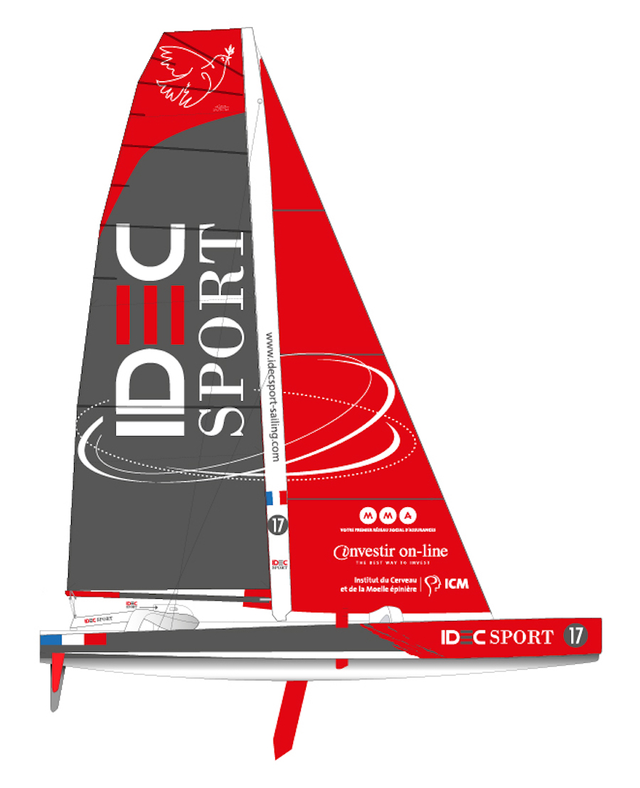 Trofeo julio verne 2016 barco idec sport