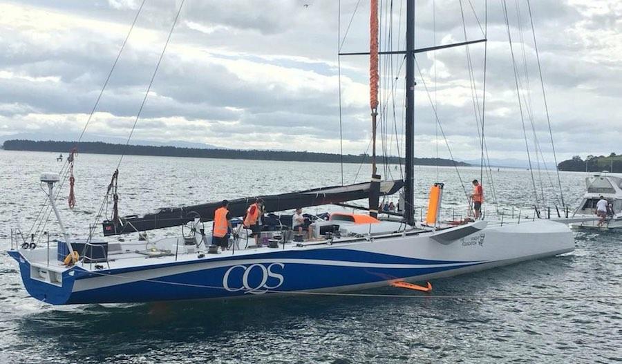 Rolex Sydney Hobart 2016 - CQS