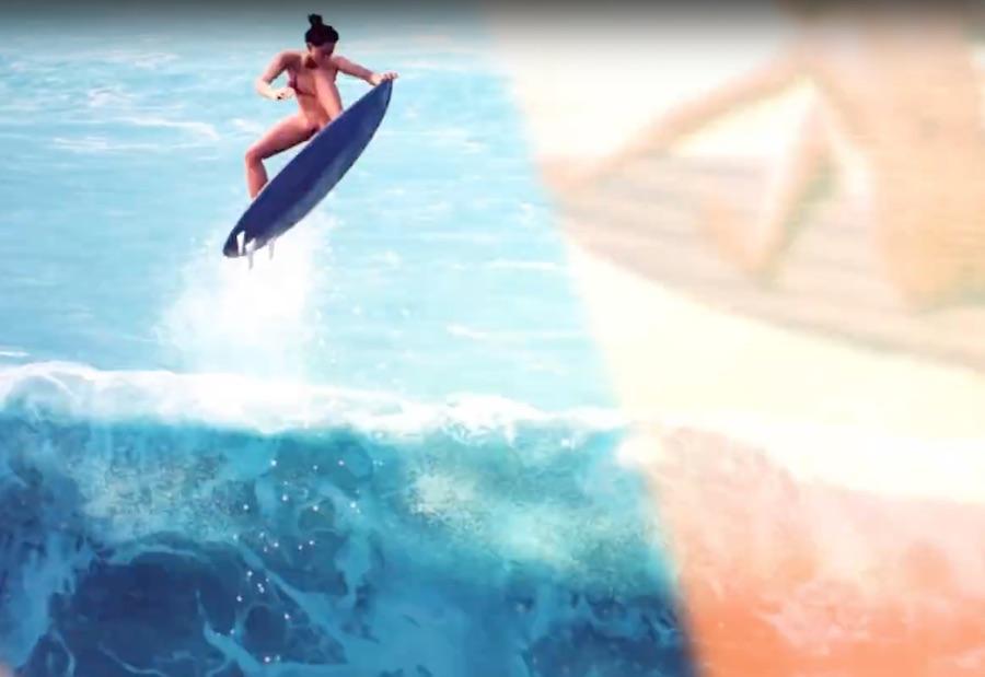 Videojuego Surf