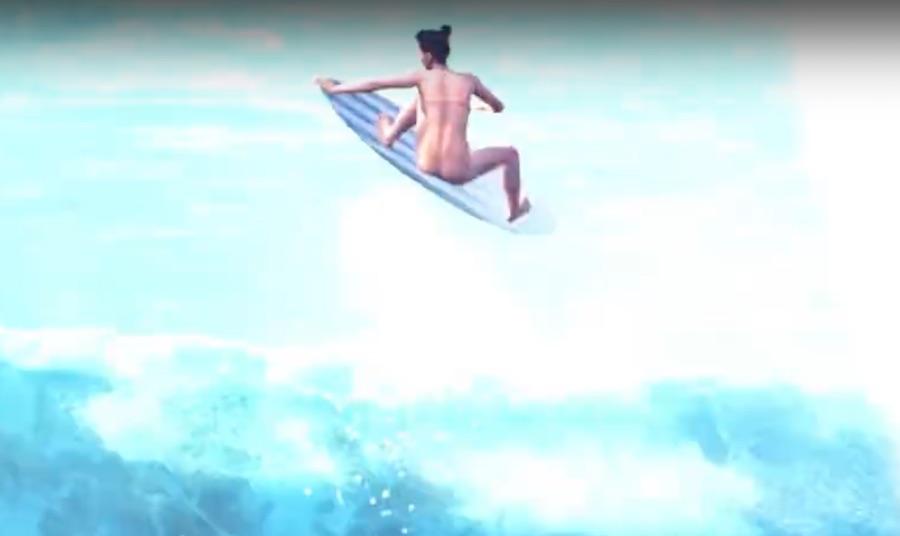 Videojuego de Surf