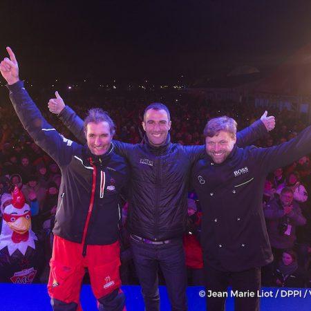 Podio Vendée Globe 2016-2017