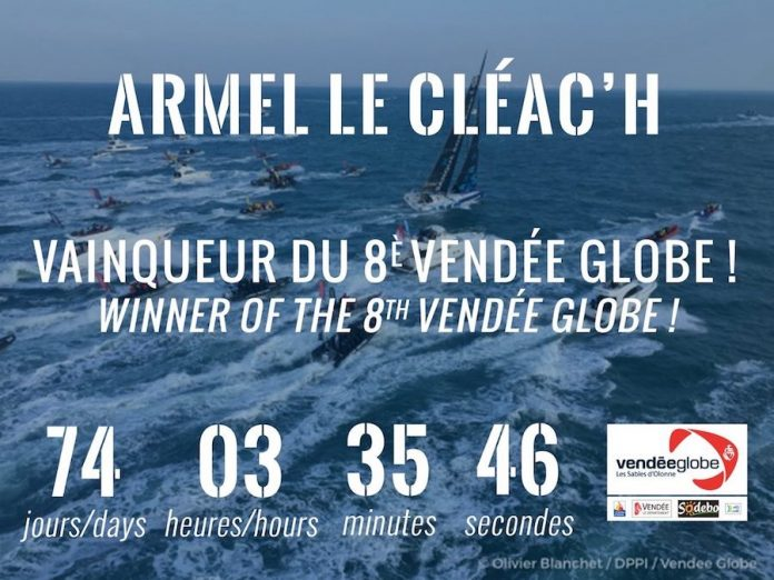 Armel le cleac 39 h banque populaire vencedor de la vend e globe 2016 - Armel le cleac h banque populaire ...