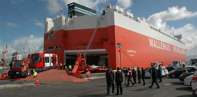 La embarcación Thermpylae