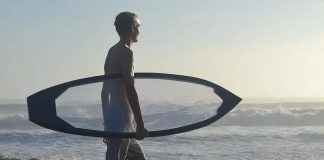 Tabla de surf transparente 1