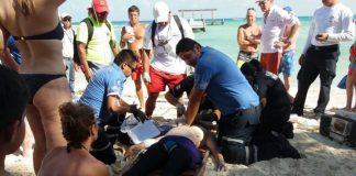 Buceadora muere en Playa del Carment