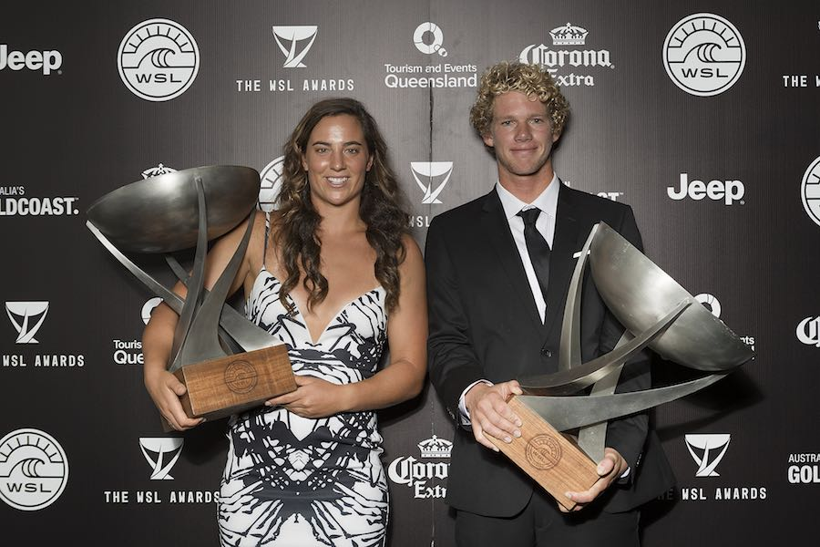 World Surf League Premios 2017
