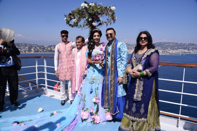 Celebrar bodas en un barco