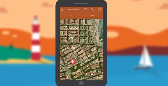 App de navegación