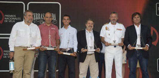 Premios Nacionales de Vela en Baiona 2