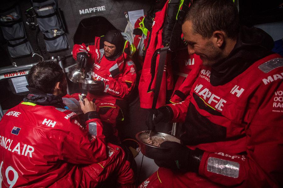 Mapfre en la Volvo Ocean Race