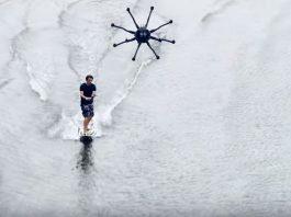 drones para surfear