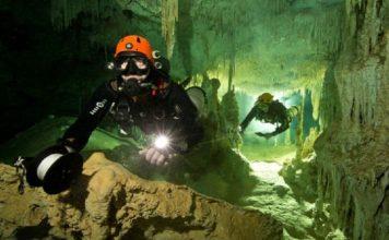 cueva bajo agua mas larga del mundo