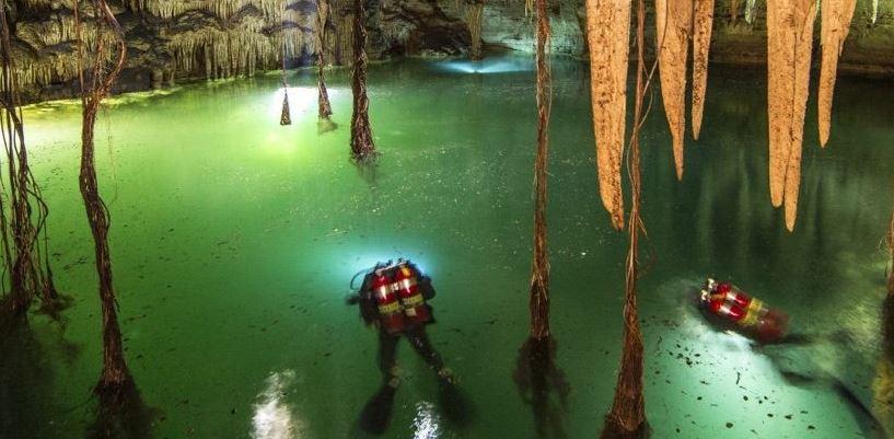 cueva sumergida mas larga