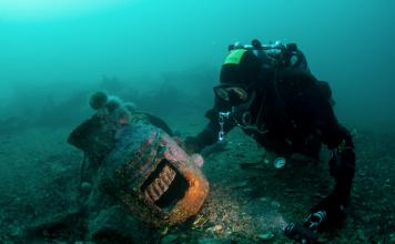 cementerio de barcos
