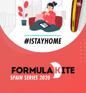 Formula Kite Spain Series 2020 - Stay at home