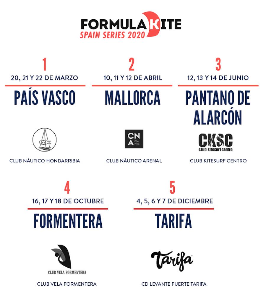 Formula Kite Spain Series 2020 -2