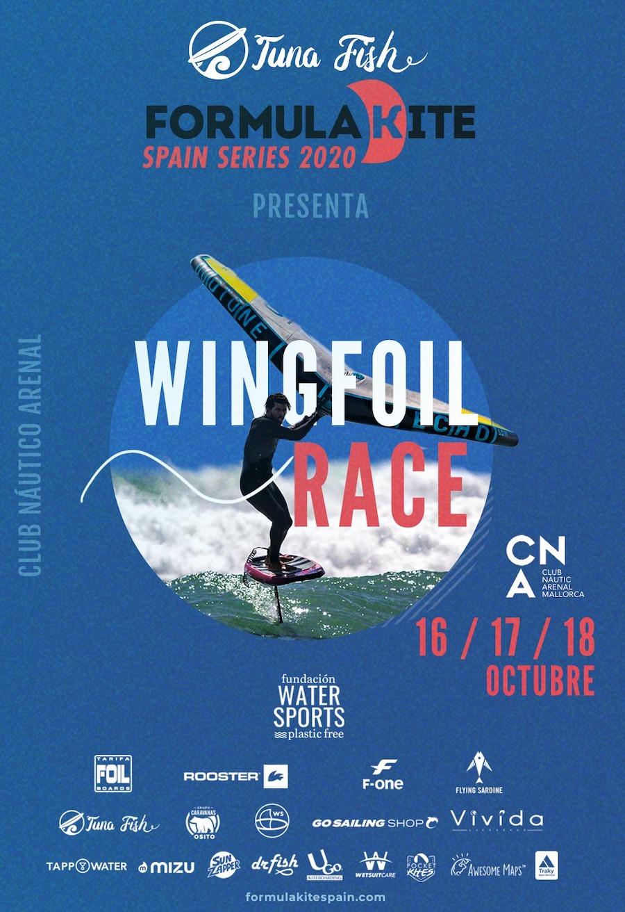Wingfoil - Formula Kite Spain Series 1
