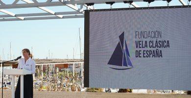 Fundación Vela Clásica de España. Valle de la Riva en el acto de presentación